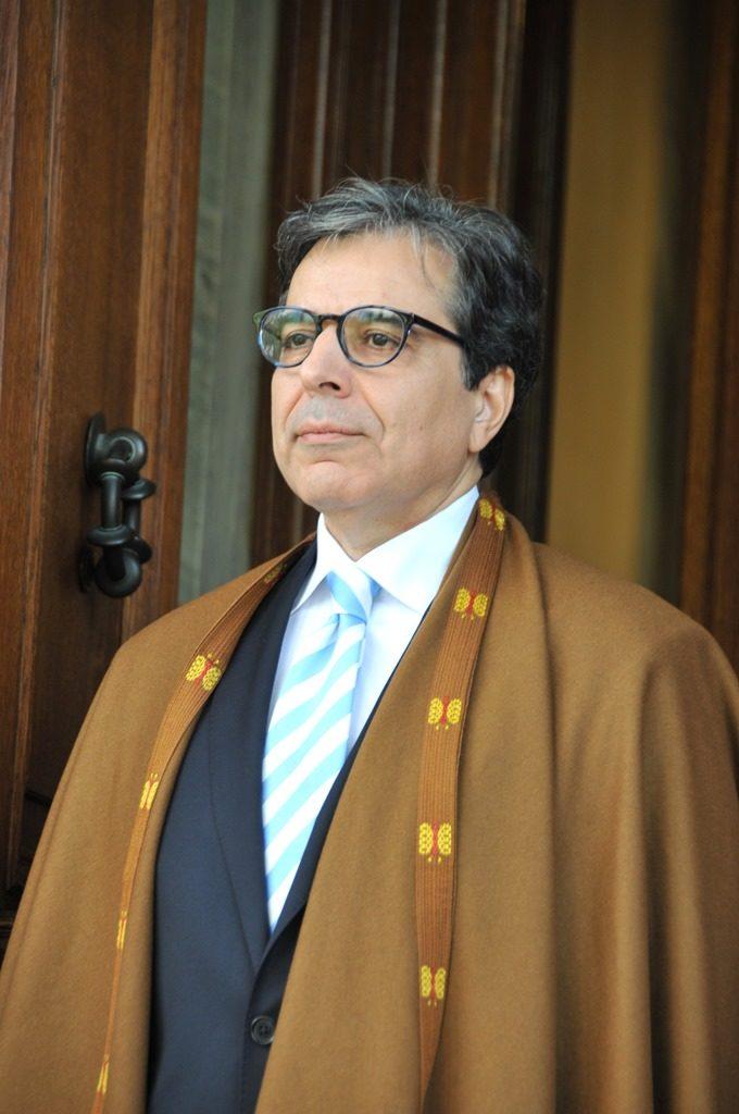 Ambassador of the People's Democratic Republic of Algeria, Noureddine Bardad-Daidj