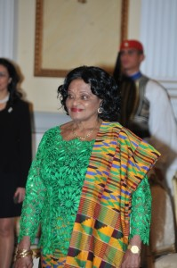 Ambassador of the Republic of Ghana Molly Anim Addo