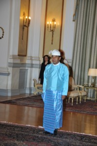 Ambassador of the Republic of the Union of Myanmar Myint Naung