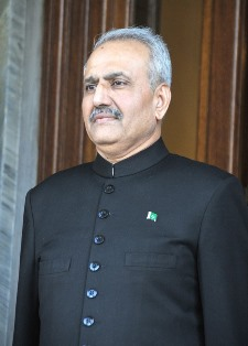 Ambassador of the Islamic Republic of Pakistan, Khalid Usman Qaiser