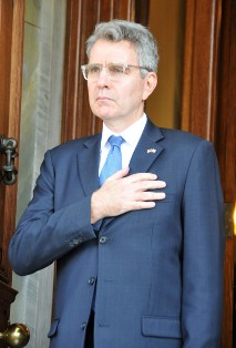 Ambassador of the United States of America, Geoffrey Pyatt