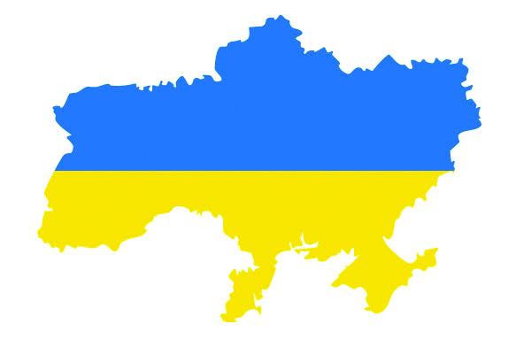 H.E. the Ambassador of Ukraine to the Hellenic Republic, Volodymyr Shkurov flag