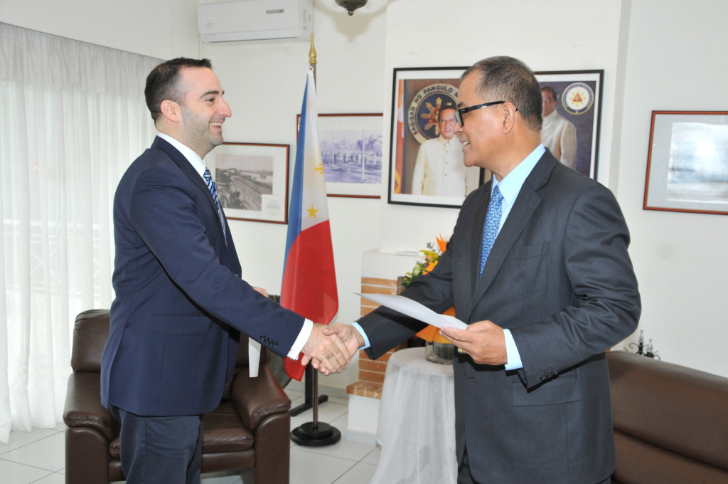 The New Honorary Consul of the Philippines