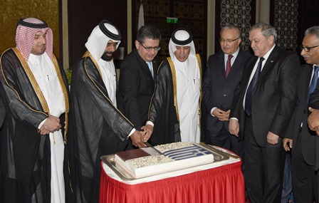 The celebration of the Greek War of Independence in Qatar
