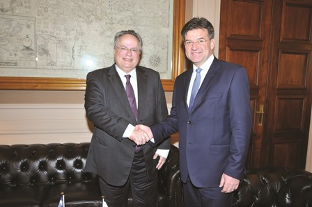 Foreign Minister meets with Slovak Counterpart