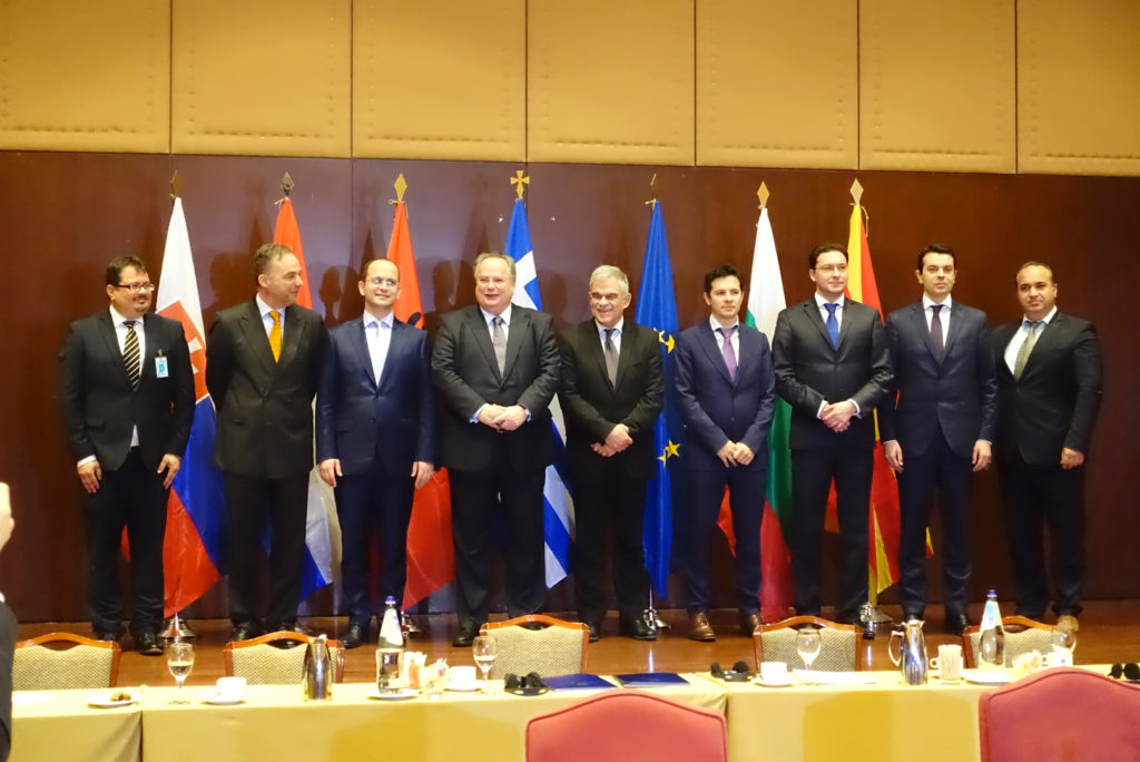 Quadrilateral Meeting between Greece, Albania, Bulgaria and FYROM on cross-border cooperation