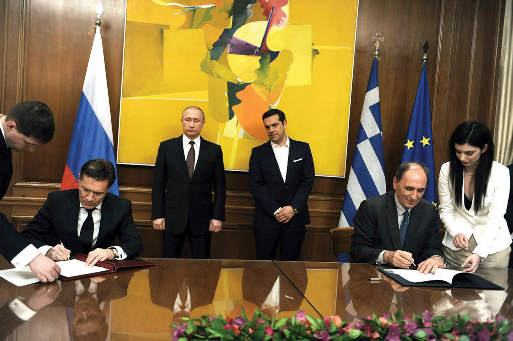 President of the Russian Federation visits Greece