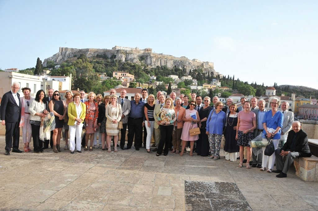 The Consular Corps of Liege experiences 'Beautiful Greece'