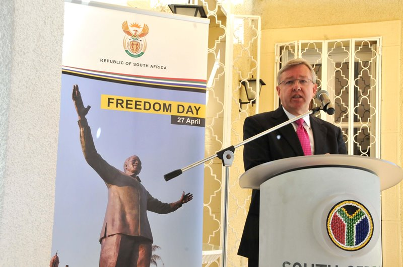 South Africa marks 22nd Freedom Day Anniversary