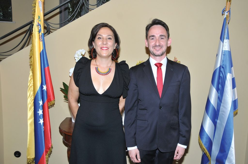 The Bolivarian Republic of Venezuela hosts National Day reception