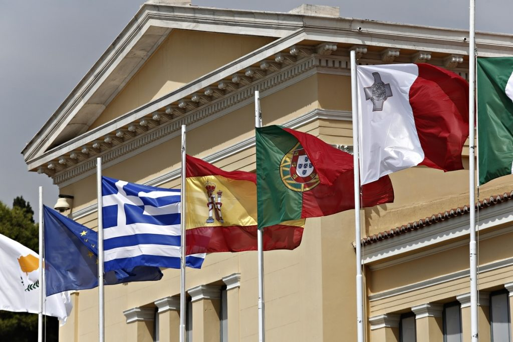The 1st Mediterranean EU countries' Summit results in 'Athens Declaration'