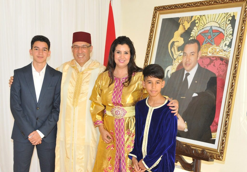 The 17th Anniversary of the Enthronement of HM the King of Morocco