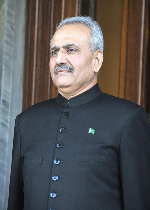 Ambassador of the Islamic Republic of Pakistan, Khalid Usman Qaiser