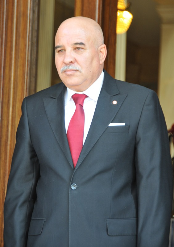 Ambassador of the Republic of Tunisia, Lassaad Mhirsi