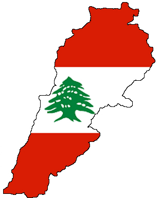 flag-map_of_lebanon