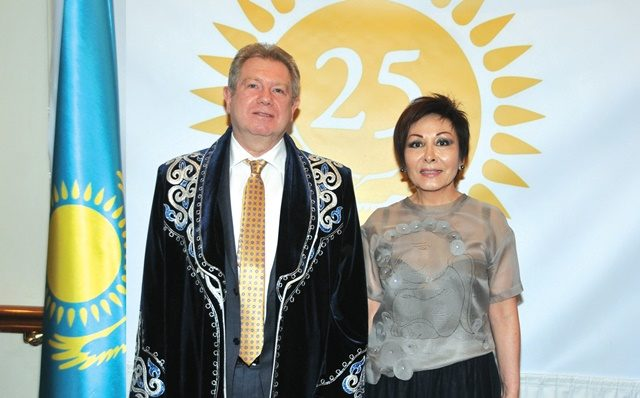 Kazakhstan marks 25th Independence Day Anniversary