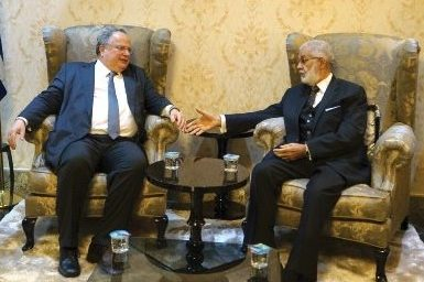 Foreign Minister visits Tripoli, meets with Libyan leadership