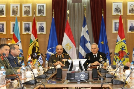 Egyptian Armed Forces Chief of Staff on Official Visit to Greece