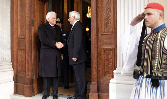 President of the Italian Republic pays State Visit to Athens