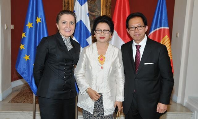 Ambassador of Indonesia hosts farewell reception