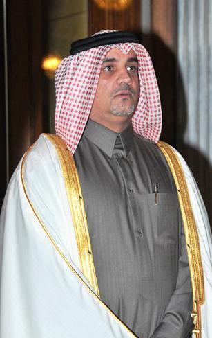 Ambassador of the State of Qatar, Abdulaziz Ali Al-Naama