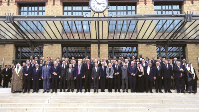 Conference for Peace in the Middle East held in Paris