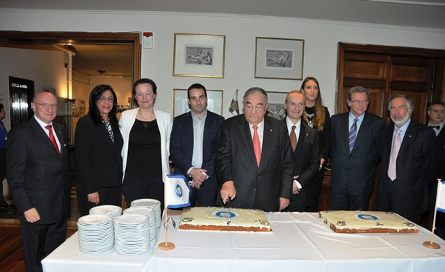 CCG welcomes in the New Year, cuts annual Vasilopita