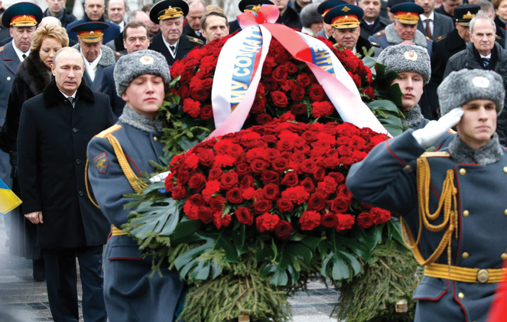 Embassy of the Russian Federation marks Fatherland Defenders' Day