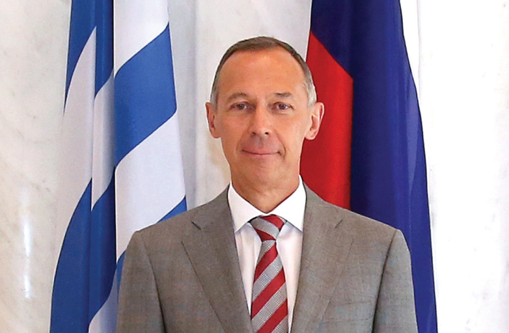 Interview with H.E. the Ambassador of the Russian Federation to the Hellenic Republic, Andrey M. Maslov