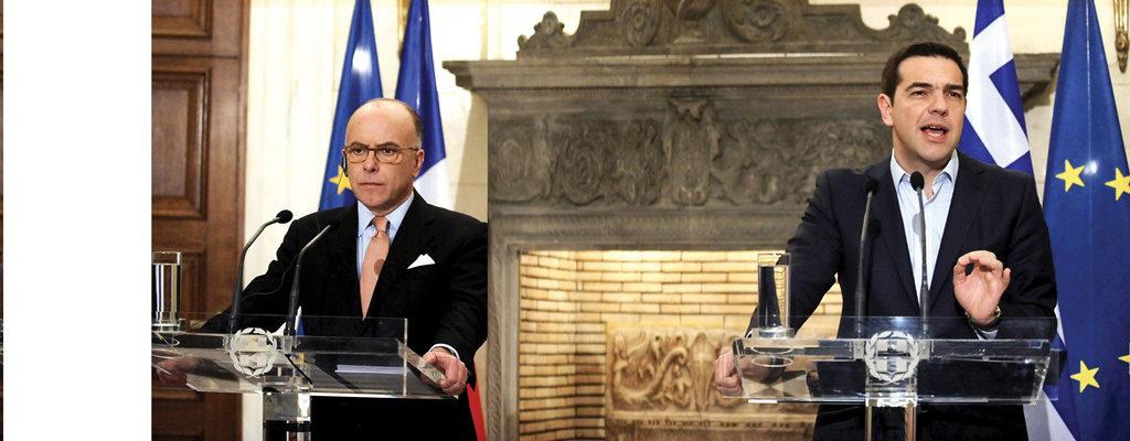 Prime Minister of France visits Athens for talks with Greek leadership