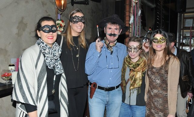 Athens Diplomatic Club carnival party