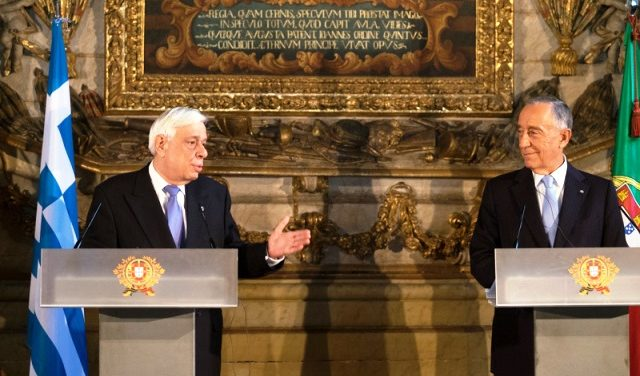 President of the Hellenic Republic Pays State Visit to Portugal