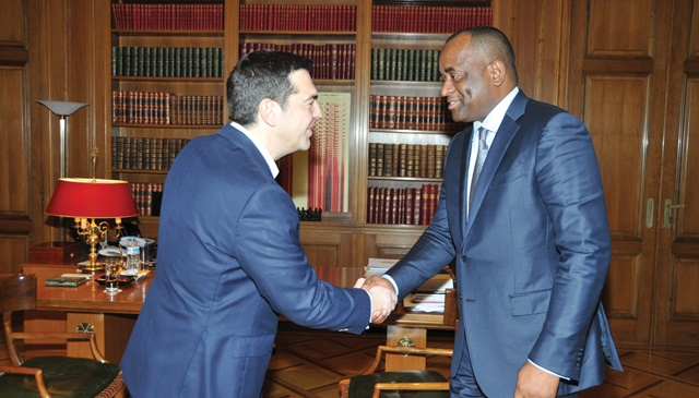 Prime Minister of the Commonwealth of Dominica visits Greece