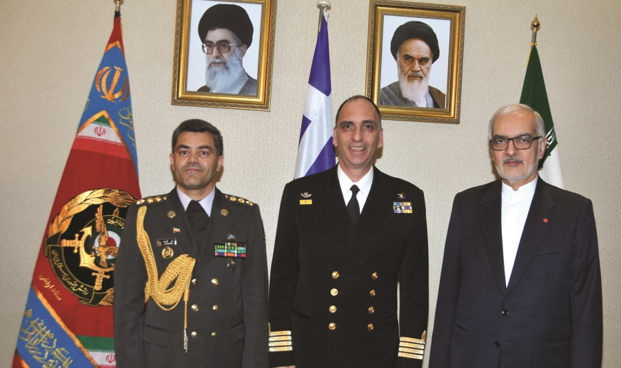 The Armed Forces Day of Iran marked in Athens with a reception