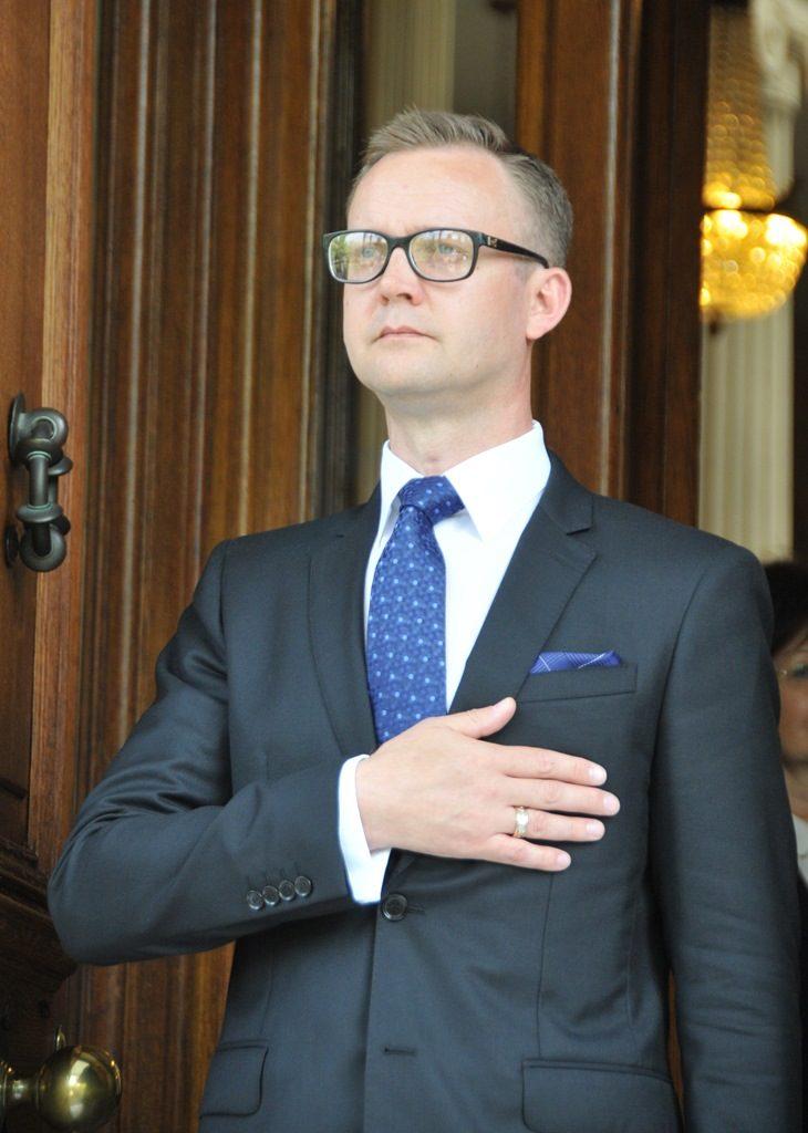Ambassador of the Republic of Lithuania, Rolandas Kačinskas