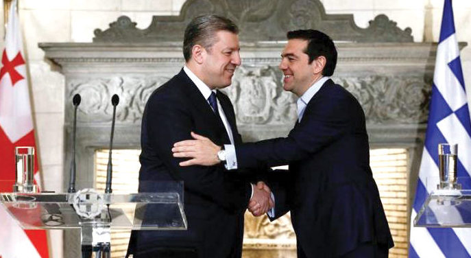 """Georgian Prime Minister's visit to Athens is of """"historic value"""""""