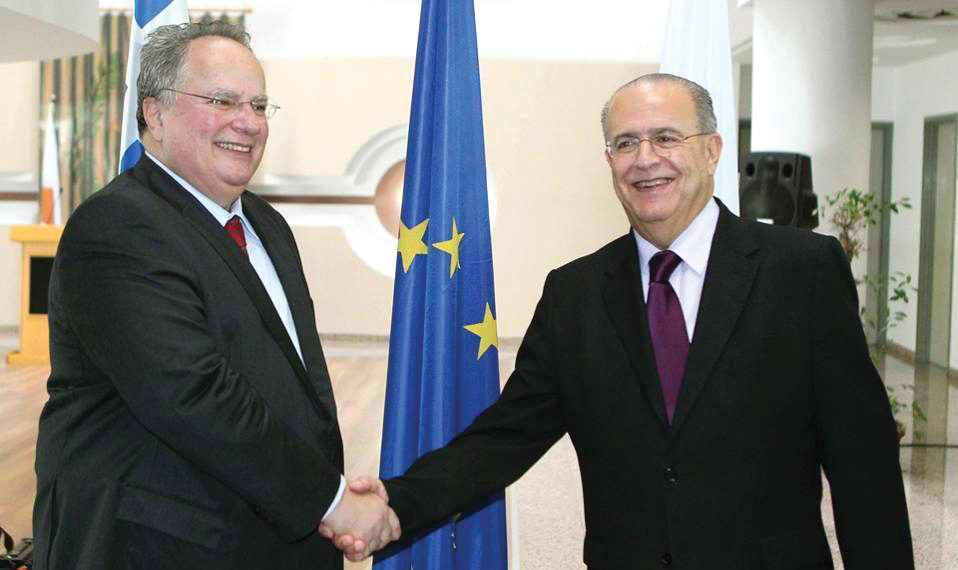 Foreign Minister meets with the leadership of the Republic of Cyprus