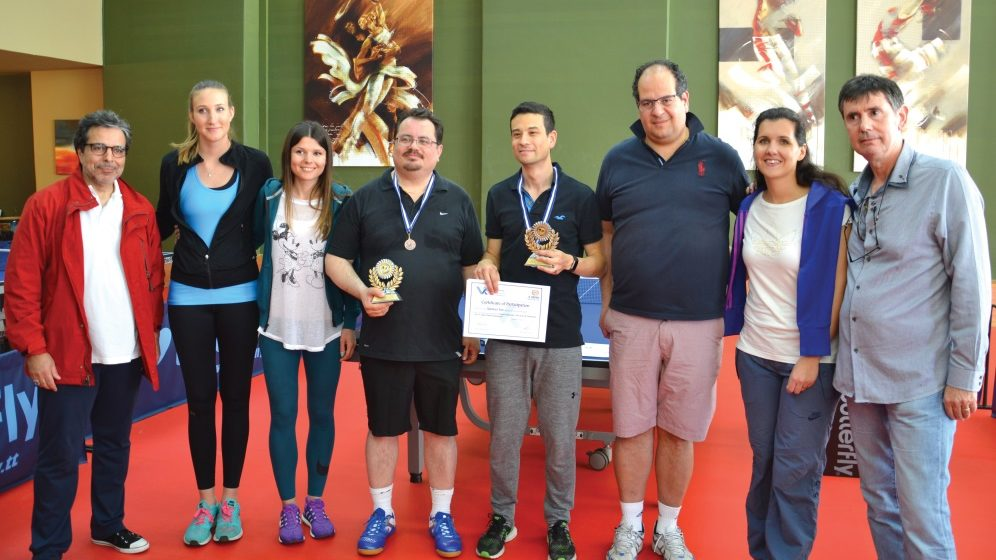 The 2nd Athens Diplomatic Table Tennis Tournament