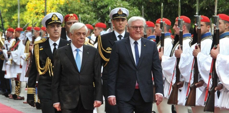 President of the Federal Republic of Germany pays State Visit to Greece