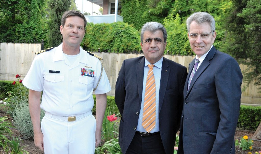 US Armed Forces Day commemorated, medals bestowed