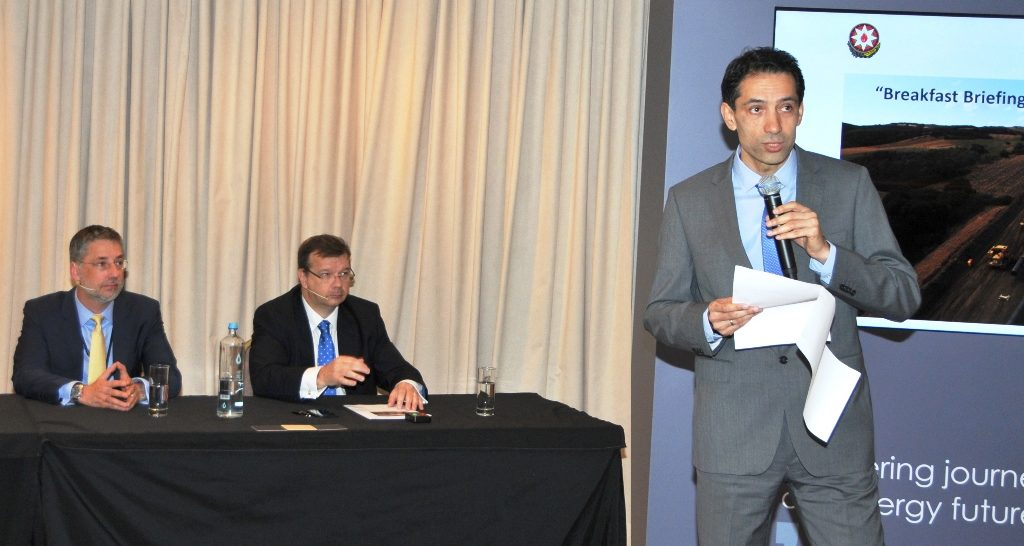 TAP presents its progress to the Diplomatic Corps in Greece