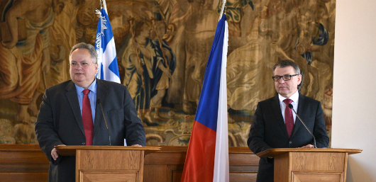 Foreign Minister visits Prague to meet with leadership