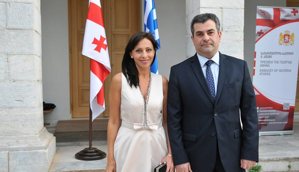 Georgia marks Independence Day in Greece; celebrates 25 years of Diplomatic Relations