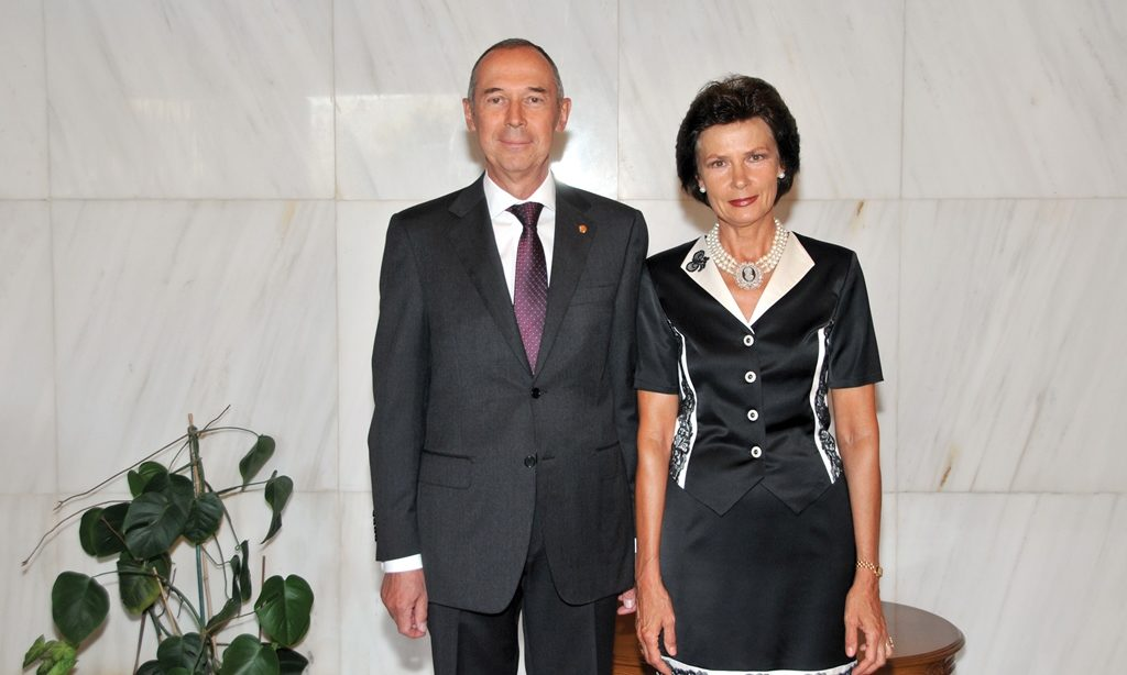 Ambassadorial couple of the Russian Federation host grand National Day reception