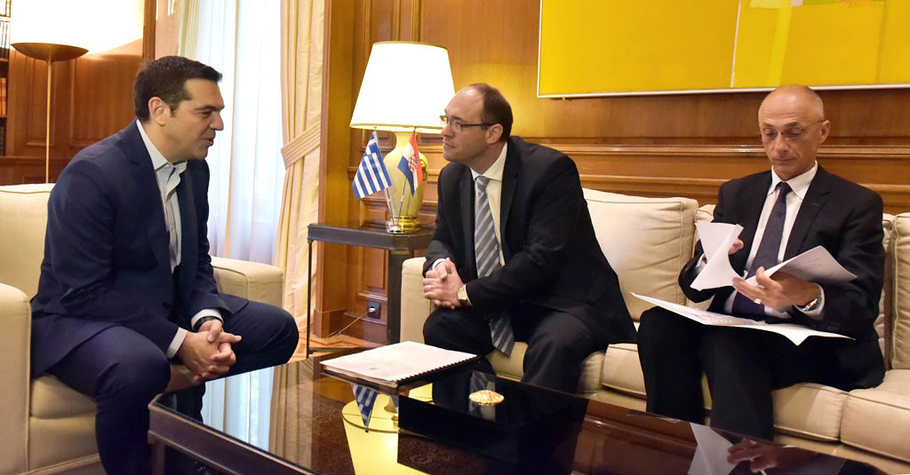 Croatian Deputy Prime Minister & Minister of Foreign and European Affairs in Athens