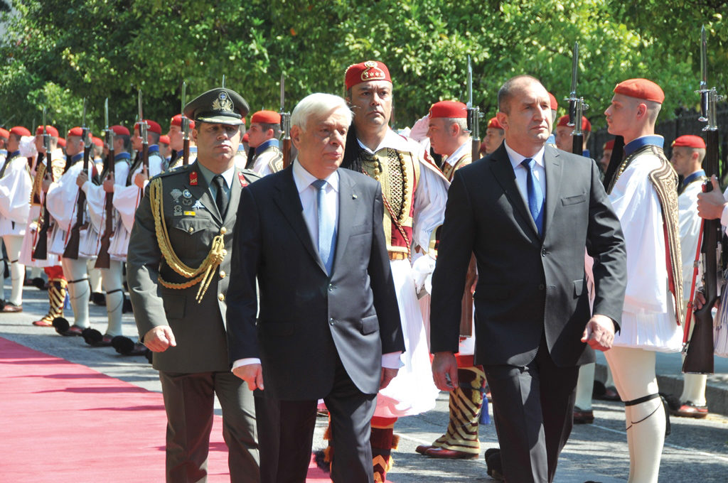 State Visit of the President of Bulgaria to Greece