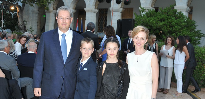 Reception for the National Day of the Grand Duchy of Luxembourg