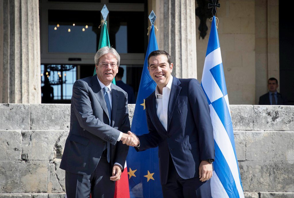 1st Intergovernmental Conference between Greece and Italy