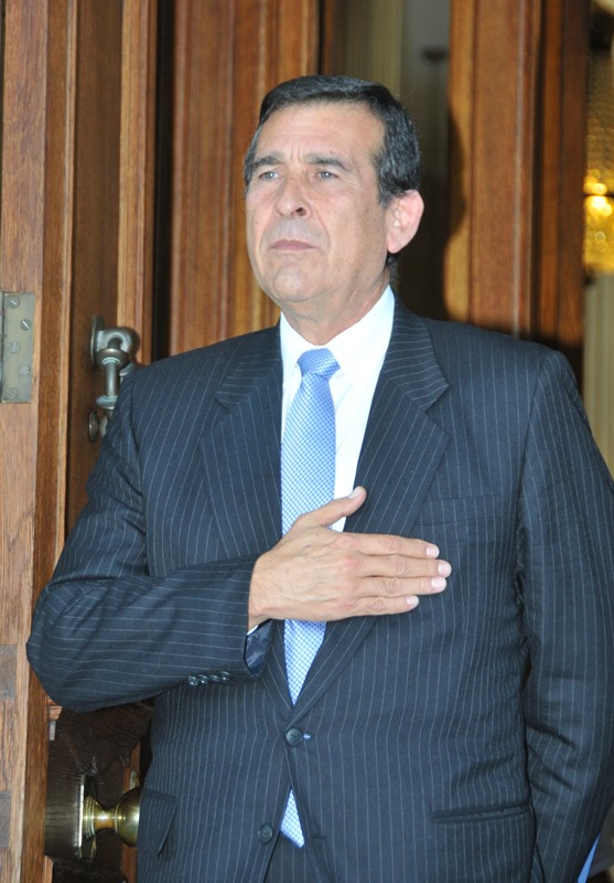 Ambassador of the Republic of Peru Luis Fernando Augusto Sandoval Dávila