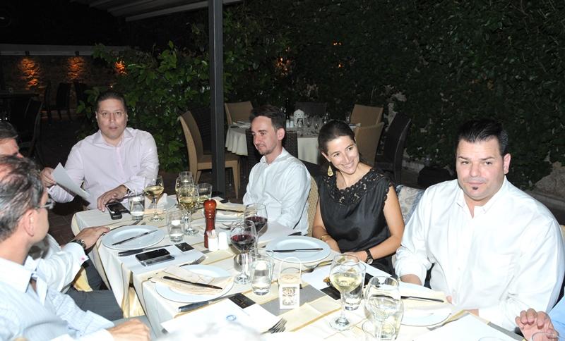 The Consular Corps of Greece dines al fresco